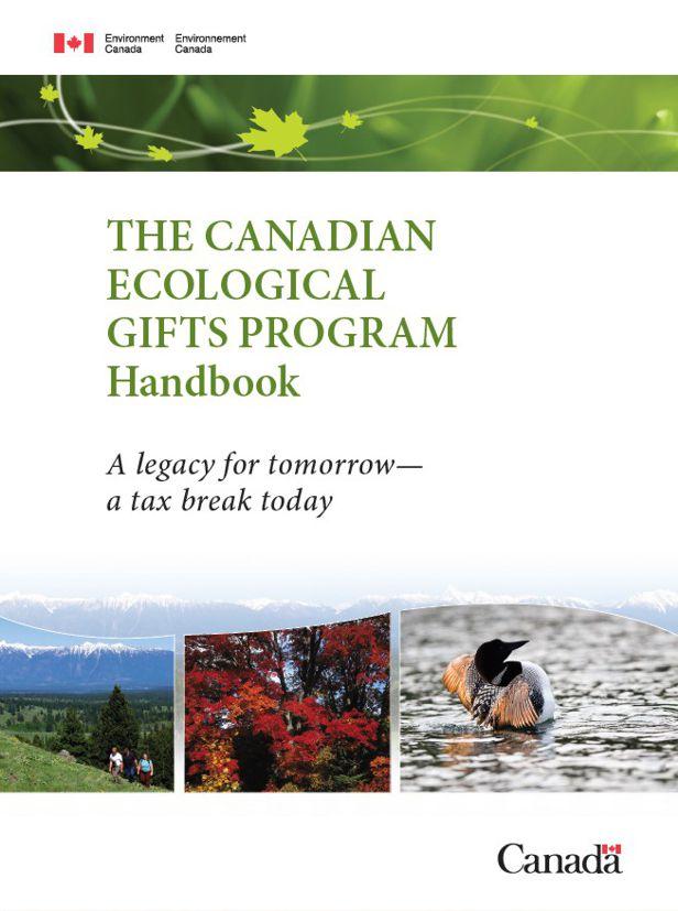 Brochure sur les dons écologiques